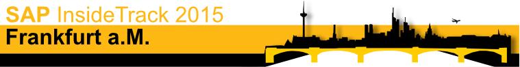 SAP Inside Track Frankfurt